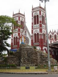 basilica of the sacred heart of jesus pondicherry wikipedia
