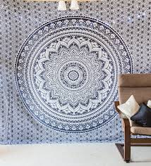 Indie Bedspreads Amazon Com Indie Pop Mandala Tapestry Bedding With Pillow Covers