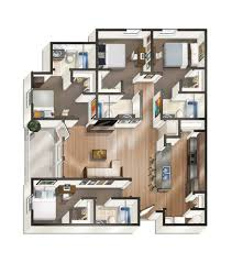 bedroom fresh 4 bedroom apartment floor plans interior