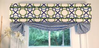 How To Make A No Sew Window Valance Curtains And Window Treatments Cornices Valances Drapery