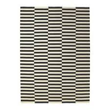 Black White Striped Rug Friday U0027s Favourites Black And White Ikea Stockholm Stockholm