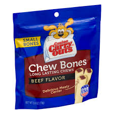 canine carry outs dog snacks small bones chew bones beef flavor