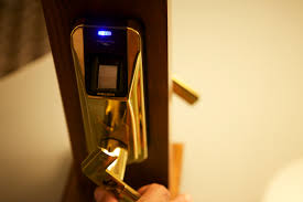 biometric door u0026 bio matic fingerprint silver right handle