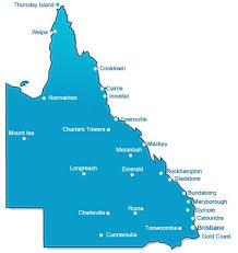 map of queensland browse hospitals queensland myhospitals gov au