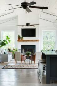 Living Room Ceiling Fans The Best Sleek And Modern Ceiling Fans House Of Four