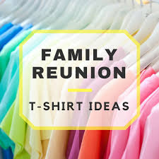family reunion t shirts apparel
