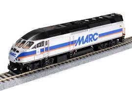 true line trains ho 500228 mp36ph 3c marc 15 dcc and esu