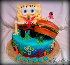 spongebob birthday cake spongebob birthday cake cakecentral