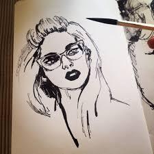 286 best faces pen u0026 ink images on pinterest drawings ink