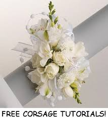 wedding corsages learn how to make wedding corsages easy and free flower tutorials