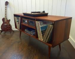 Mid Century Record Cabinet by New Mid Century Modern Record Player Console Turntable