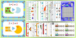 year one addition and subtraction resource pack year one year