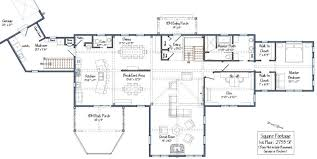 single level house plans post and beam single story floor plans