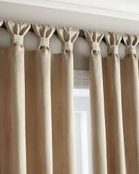 Textured Cotton Tie Top Drape by Tab Curtains A Little Different U2026 Pinteres U2026