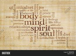 writing concept paper mind body spirit and soul concept word cloud on a papyrus mind body spirit and soul concept word cloud on a papyrus paper