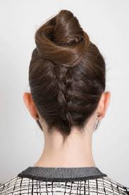 when were doughnut hairstyles inverted trendy birthday bun hairstyle with reverse french braid