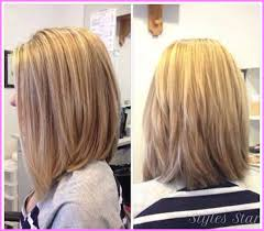 medium length hair styles from the back view medium length haircuts with layers back view stylesstar com