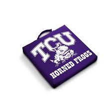 tcu texas christian stadium seat bleacher cushion products
