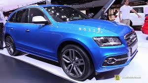 audi sq5 2015 2015 audi sq5 exterior and interior walkaround 2014 auto