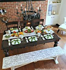 Thanksgiving Table Setting by Thanksgiving Table Setting Ideas At The Picket Fence