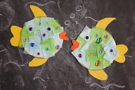 recycled cd fish craft for kids