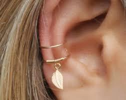 cartilage cuff earrings set of 2 ear cuffs ear cuff no piercingearcuffdouble ear