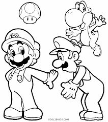 draw luigi coloring pages 43 in coloring print with luigi coloring