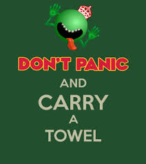 Original Keep Calm Meme - don t panic and carry a towel variation 42 keep calm and carry