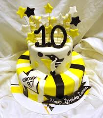 Hockey Cake Decorations Hooray Pittsburgh Penguins Cakecentral Com