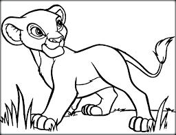 baby lion coloring pages eliolera com