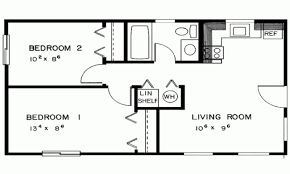 eplans ranch house plan 6 smartness blueprint of a two bedroom