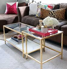 gold side table ikea photo nesting side table images diy tuesday easy gold ikea on ikea