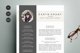 fashion resume templates resume template 4 pack cv template resume templates creative