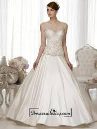 wedding dress black friday sale champagne straps sleeveless empire v neck lace wedding dress