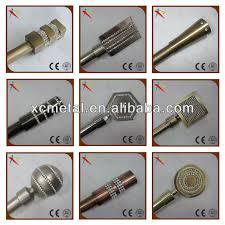 home decorative curtain rod caps closet rod end caps buy steel