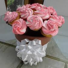 cupcake flowers the cupcake rack create a cupcake bouquet in a flower pot the