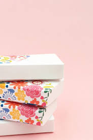 floral gift box diy gift wrapping ideas diy floral gift boxes decorate your