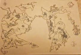Fantasy Map My First Map Of A Fantasy World Mapmaking