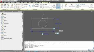 autocad dynamic block tutorial youtube