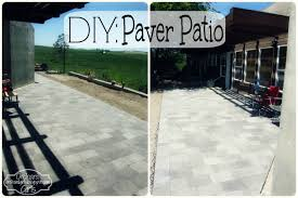 How To Stain Concrete Patio Yourself How To Build A Patio With Pavers Home Outdoor Decoration