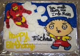 coolest homemade family guy cakes