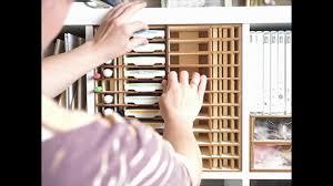 Ordnung Im Wohnzimmerschrank Stampin Up Stempelkissen Aufbewahrung Im Ikea Kallax Regal