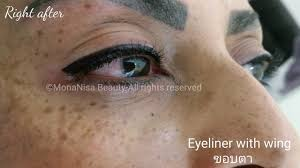 eyeliner tattoo pain level beautiful eyeliner tattoo monanisa beauty