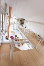 escalier peint 2 couleurs peinture couleur pièce de couleur agrandir une pièce avec des