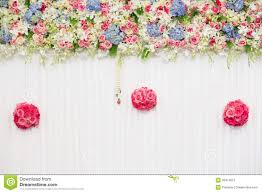 beautiful flower wedding decoration royalty free stock photo