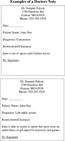 doctor note template free doctors note template for free tidyform