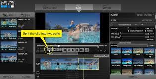 final cut pro vs gopro studio gopro studio tutorial video editing timeline cut and split step