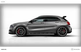 mercedes a 45 amg 4matic mercedes gla 45 amg to launch on 27 october