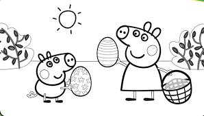 peppa pig coloring page stunning brmcdigitaldownloads com