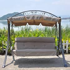 h ngematte auf balkon drei outdoor schaukelstuhl schaukel balkon garten hängematte